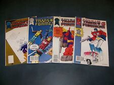 How to Draw Transformers Blackthorne Comics 1-4 1987-1988