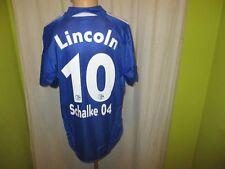 "FC Schalke 04 Adidas Trikot 2005/06 ""VICTORIA versichert"" + Nr.10 Lincoln Gr.XL"