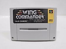 SNES -- WING COMMANDER -- Super famicom. Japan game. Work fully. 13494