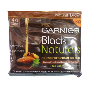 Garnier Black Naturals Oil Enriched Cream Colour <CREAM HAIR COLOUR>(pack of 10)