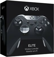 Official Microsoft Xbox One Elite Wireless Controller - Black - HM3-00001 In Box