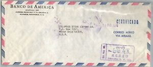 GP GOLDPATH: NICARAGUA COVER 1970 REGISTERED LETTER AIR MAIL _CV712_P13