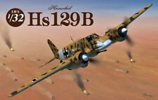 TOP NEUHEIT ! ZOUKEI-MURAI HENSCHEL HS-129 B-2/B-3 IN 1/32