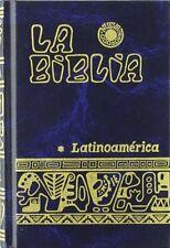 La BIBLIA LATINOAMERICA bolsillo edicion Pastoral AZUL Latinoamericana Catolica