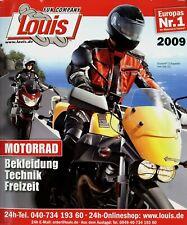 Louis Katalog 2009 1118 S. Motorradzubehör Motorrad-Bekleidung Helme Teile parts