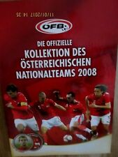 ÖFB Die offizielle Kollektion des österreichischen Nationalteams 2008 complete