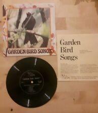 "RSPB Garden Bird Song 7"" vinyl Flexidisc single"