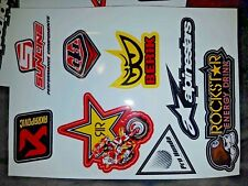 Acapovic Rockstar Alpinestars Honda bike motocrss   stickers decals - #J-71