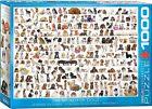 Rompecabezas de 1000 piezas - EL MUNDO PERROS eg60000581 - Eurographics Puzzle