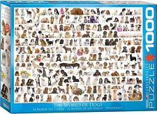 1000 PIECE JIGSAW PUZZLE - World of Dogs EG60000581 - Eurographics Puzzle