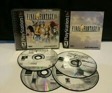 Final Fantasy IX (Sony PlayStation 1, 2000) COMPLETE