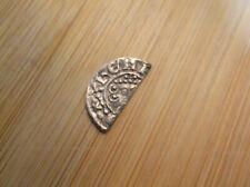 More details for super king john silver short cross cut half hammered penny coin detector find b