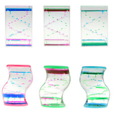 Oil Liquid Hourglass Floating Bubble Motion Timer Sensory Toys, Gadget Toy and