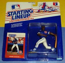 1988 ANDRE DAWSON #8 Chicago Cubs Rookie Kenner Starting Lineup - FREE s/h - slu