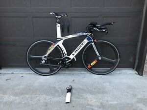 2009 Specialized S-Works Transition Time-Trial Bike, With Quarq Powermeter