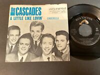 The Cascades: A Little Like Lovin' / Cinderella 45 with Picture Sleeve - RCA