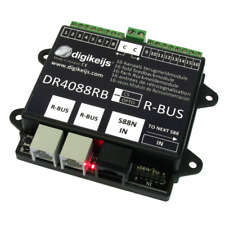 Spur HO N Digikeijs DR4088RB-CS 16-fach Rückmeldemodul R-BUS  - OVP NEU