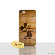 Disney Quote Gel Case for Apple iPhone 7 4.7 Inch Screen Protector Wood Cover