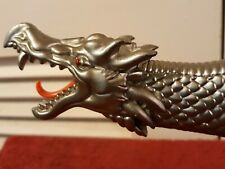 """Fantasy Sword   24"""" Dragon Claw Silver Blade Knife + Display Stand Fm-421B"""