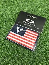 Oakley SI Logo Flag Red/White/Blue Velcro Patch