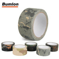 10m Hunting Camouflage Tape Waterproof Bionic Cotton Adhesive Camping Gun Tape