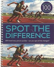 Spot The Differences PICTURE PUZZLES New BOOK Brain Teasers POWERS OBSERVATION