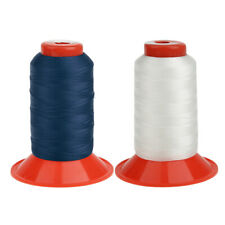 2 Rolls 500 Meters Strong Bonded Nylon Thread for DIY Tent Backpack Sewing