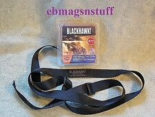SLING For Mini-14 RIFLE ++ 1.25 Inch Wide ++ BLACK 2 POINT TACTICAL SLING ++ New