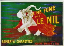Original Plakat - Papier à Cigarettes - Je ne fume que le Nil by Cappiello