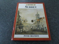 A History of Surrey by Peter Brandon, 1st Edition 1998 - Excellent Condition