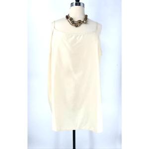 ASOS Cream Plus Size Spaghetti Strap Cami Slip Dress