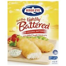 Birds Eye Frozen Fish Fillets With Original Lightly Battered Oven Bake 6 Pack...
