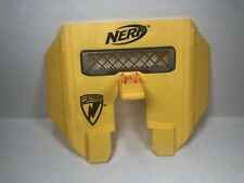 Yellow Nerf N-Strike Stampede ECS Blast Shield Attachment Part Hasbro 2009