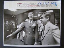 Glossy Press Photo 1989 Bedford MA Hanscom Air Base USAF Lt Gen Gordon E Fornell