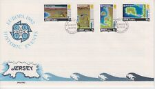 Unaddressed Jersey FDC First Day Cover 1982 Europa Historic Events 10% off 5