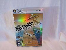 Microsoft Flight Simulator X: Deluxe Edition (PC: Windows, 2006) (1C1)
