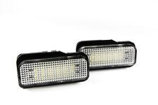 MERCEDES W203 W211 W219 R171 numéro Arrière Plaque D'immatriculation Lampe 2x 18 LED