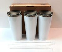 22 Oz Skinny Double Wall Stainless Steel Tumbler 3 Pack