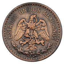 1906 Mexico 2 Centavos in Extra Fine Condition KM #419