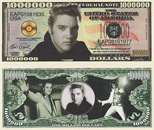 RARE Elvis Presley 000 000 Novelty Note Movies Buy 5 Get One