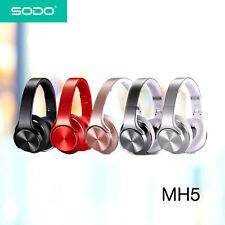 SODO MH5 2 in 1 Bluetooth Headphones Twist-out Speaker Bluetooth 4.2