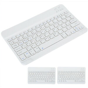 """10"""" Slim Wireless Bluetooth3.0 Tablet Keyboard Micro USB for Android iOS Windows"""