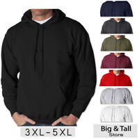 Big Men's Gildan Pullover Hoodie Sweatshirt 3XL 4XL 5XL