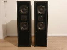 ELAC ELR 115 Standboxen, 2 Stück, schwarz, gebraucht, 90er Jahre