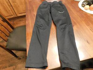 Boys Youth Nike Dri Fit Athletic Pants Black Size M
