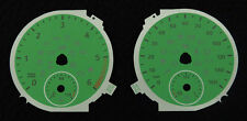VW Transporter T5 Replacement Viper Green Dials for MPH Diesel vehicles only