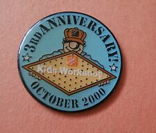 Home Depot Kid's Workshop 3rd Anniversary October 2000 -  Advertising Lapel Pin