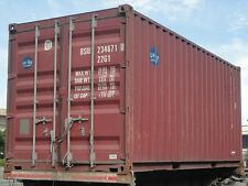 20ft Shipping & Storage Containers Cargoworthy (wind and watertight)  - GLASGOW