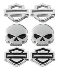 Harley-Davidson Women's Bar & Shield/Skull Stud Earrings Set - 3 Styles HDS0005
