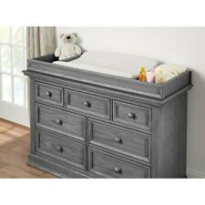 (New In Box) Baby Changing Dresser Topper - Oxford Baby - Graphite Grey